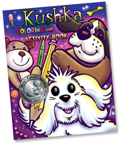 KUSHA Coloring and Activity Book