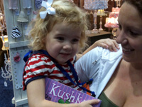 Olivia stopped by to meet KUSHKA in Louisville, KY